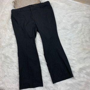 Torrid Heathered Gray Wide Leg Dress Pants